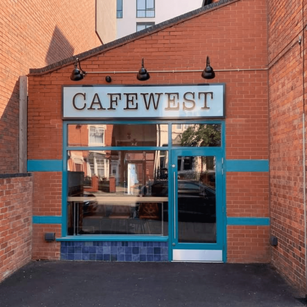 Enteranxe to CafeWest building